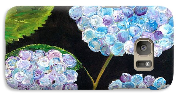 Galaxy Case featuring the painting Hydrangeas  by Reina Resto