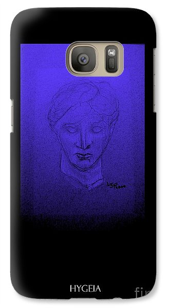 Galaxy Case featuring the photograph Hygeia by Linda Prewer