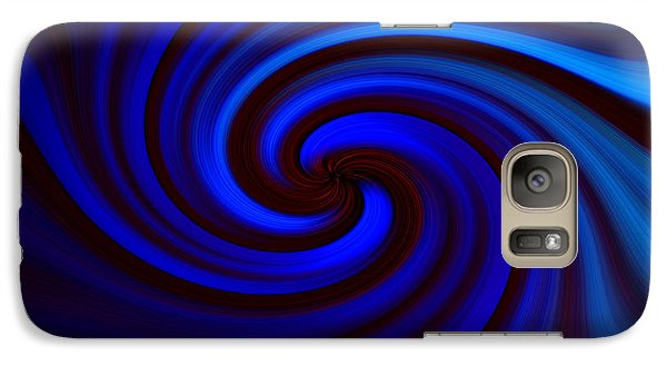 Galaxy Case featuring the photograph Hypnotic by Trena Mara