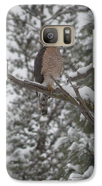 Galaxy Case featuring the photograph I Am King by Jennifer Lake