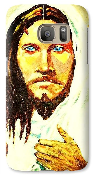 Galaxy Case featuring the painting I Am The Way... by Al Brown