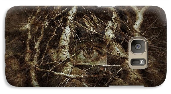 Galaxy Case featuring the digital art I Can See  by Delona Seserman