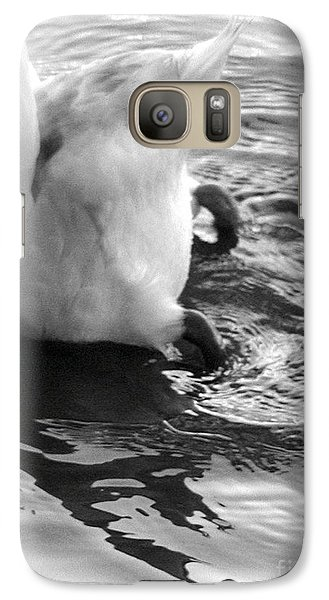 Galaxy Case featuring the photograph I Can't Hear You... by George Mount