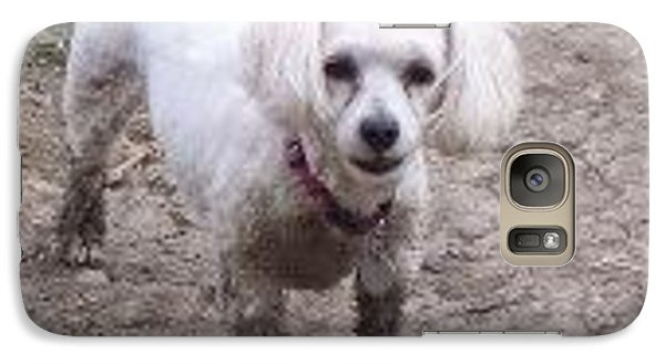 Galaxy Case featuring the photograph I Don't Need A Bath. by Sheila Byers