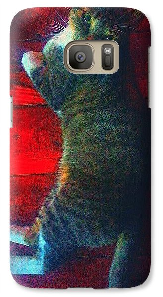 Galaxy Case featuring the photograph I Got My Eyes On You by Joetta Beauford