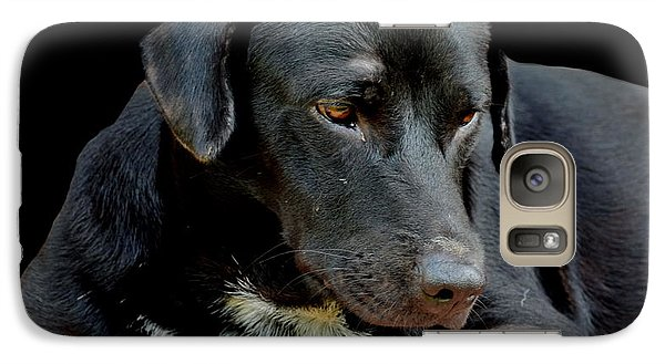 Galaxy Case featuring the photograph I Got The Blues by Michelle Meenawong