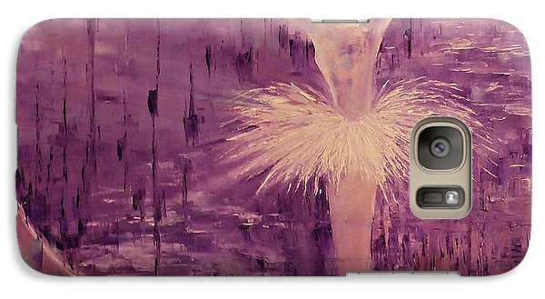 Galaxy Case featuring the painting I Have A Dream by AmaS Art