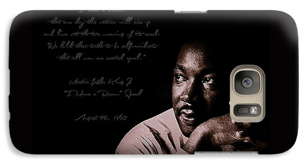 Galaxy Case featuring the photograph I Have A Dream by Maciek Froncisz