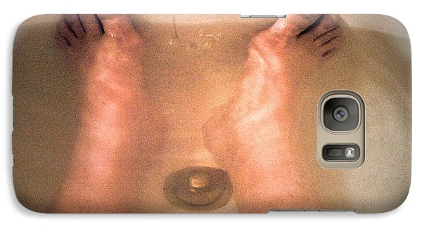 Galaxy Case featuring the photograph I Have Feet by Steve Sperry
