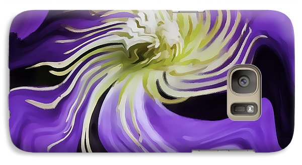 Galaxy Case featuring the photograph I Have The Last Laugh by Nancy Marie Ricketts