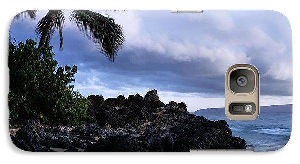 I Ke Kai Hawanawana Eia Kuu Lei Aloha - Paako Beach Maui Hawaii Galaxy S7 Case by Sharon Mau