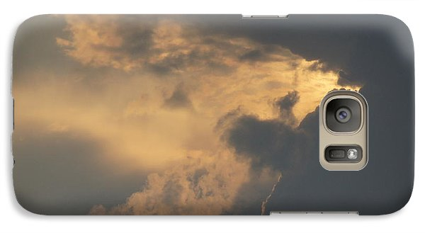 Galaxy Case featuring the photograph I Love A Cloudy Day by Angi Parks