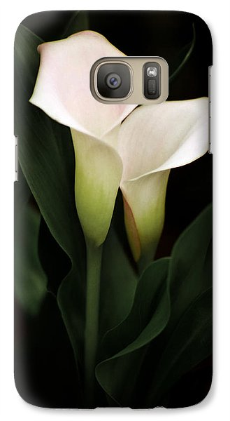 Galaxy Case featuring the photograph I Love You by Penny Lisowski