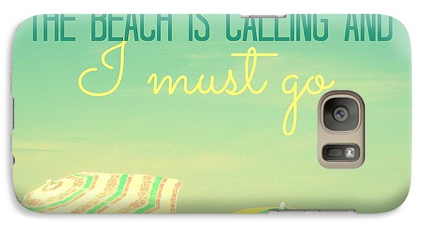 Galaxy Case featuring the digital art I Must Go by Valerie Reeves