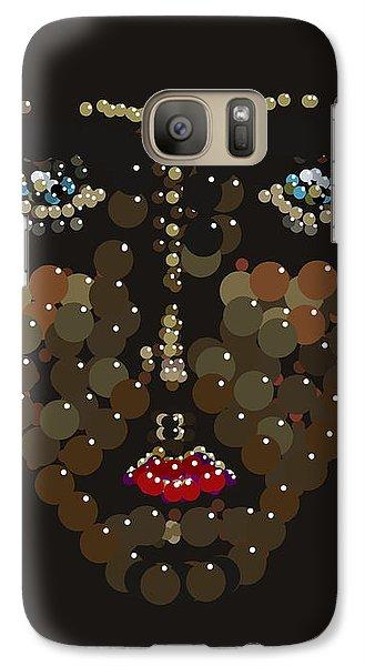 Galaxy Case featuring the digital art I Phone Case Face by R  Allen Swezey
