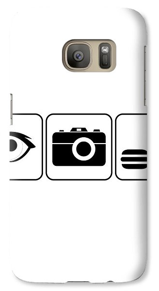 Galaxy Case featuring the digital art I Photograph Food by Brian Carson