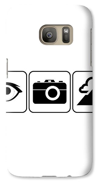 Galaxy Case featuring the digital art I Photograph Landscapes by Brian Carson