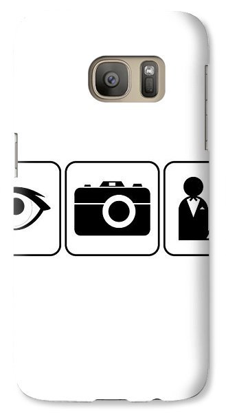 Galaxy Case featuring the digital art I Photograph Weddings by Brian Carson