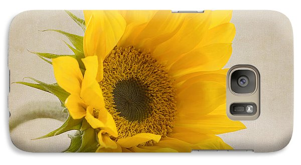 Sunflower Galaxy S7 Case - I See Sunshine by Kim Hojnacki