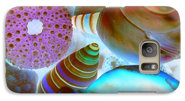 Galaxy Case featuring the photograph I Sell Seashells Down By The Seashore by Janice Westerberg