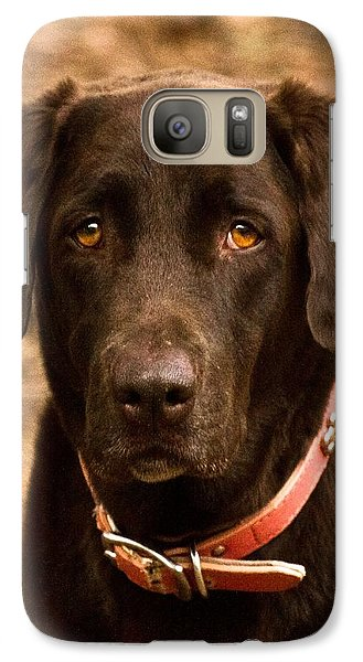 Galaxy Case featuring the photograph I Swear I Didn't Do It by Robert L Jackson