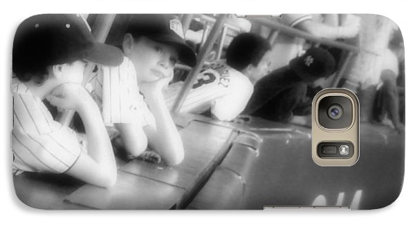 Galaxy Case featuring the photograph I Want To Be A Yankee When I Grow Up by Aurelio Zucco