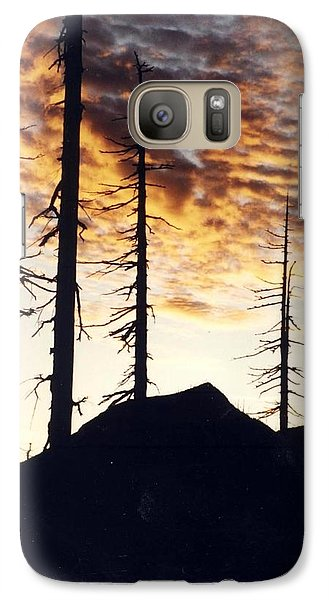 Galaxy Case featuring the photograph I Will Survive by Debra Kaye McKrill