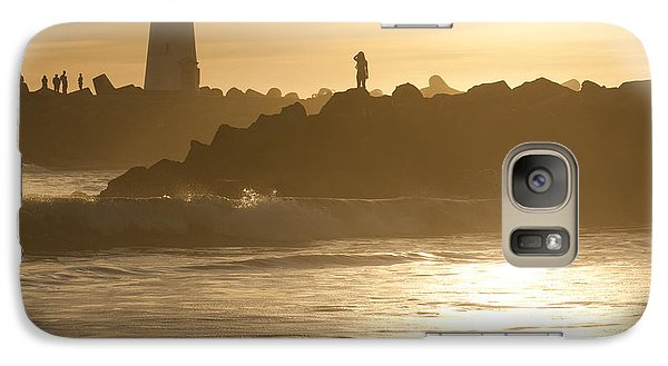 Galaxy Case featuring the photograph I Will Wait For You Forever by Artist and Photographer Laura Wrede