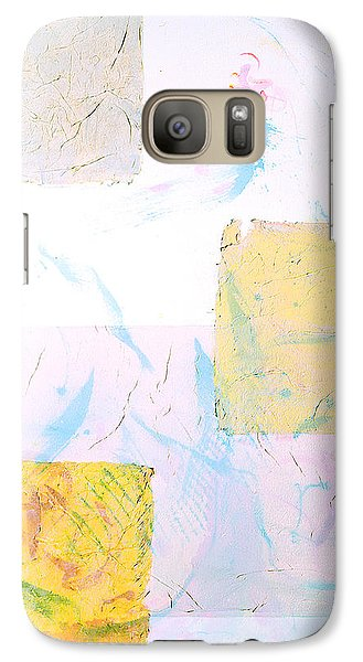 Galaxy Case featuring the painting I Wish You Love  Que Reste-t-il De Nos Amours  Tribute To Joao Gilberto by Asha Carolyn Young