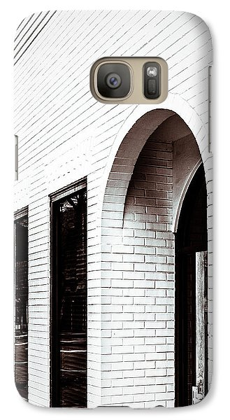 Galaxy Case featuring the photograph I Woke Up In A Soho Doorway by Wade Brooks