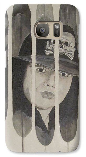Galaxy Case featuring the painting Ian Astbury by Jeepee Aero