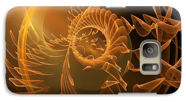 Galaxy Case featuring the digital art Icarus by Linda Whiteside
