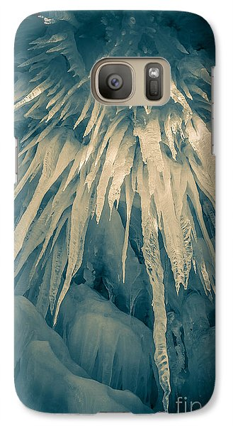 Ice Cave Galaxy S7 Case by Edward Fielding