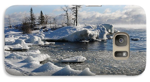 Galaxy Case featuring the photograph Ice Cold by Sandra Updyke
