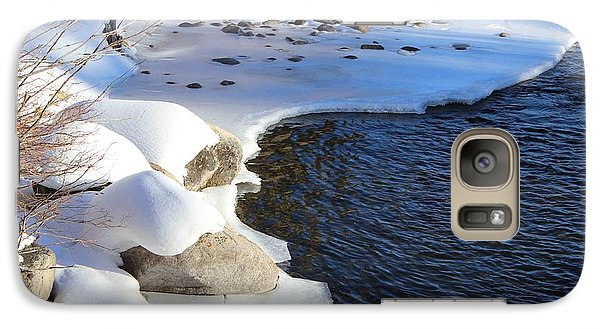 Galaxy Case featuring the photograph Ice Cold Water by Fiona Kennard