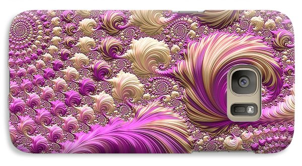 Galaxy Case featuring the digital art Ice Cream Social by Susan Maxwell Schmidt