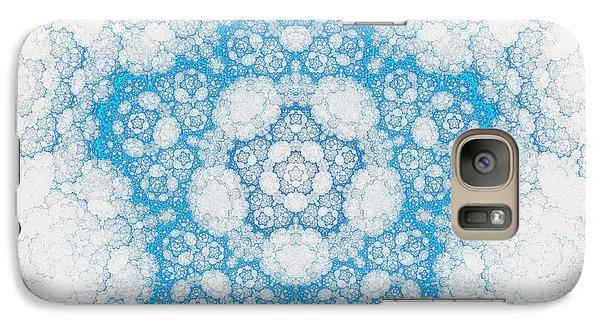Galaxy Case featuring the digital art Ice Crystals by GJ Blackman