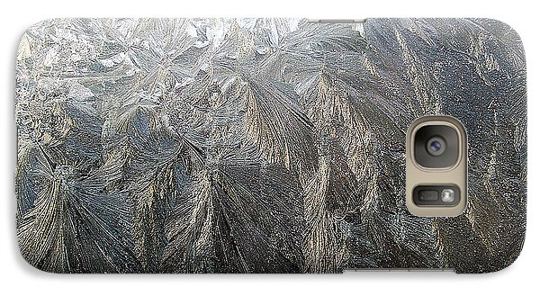 Galaxy Case featuring the photograph Ice by Mark Alan Perry