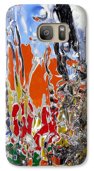 Galaxy Case featuring the photograph Ice Puzzle by Sami Tiainen