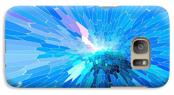 Galaxy Case featuring the photograph Ice Queen by Mariarosa Rockefeller