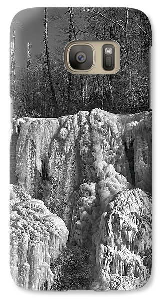 Galaxy Case featuring the photograph Ice Sculpture by Alan Raasch
