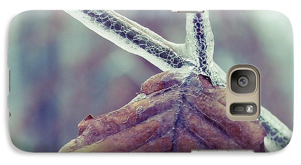 Galaxy Case featuring the photograph Ice Storm by Candice Trimble