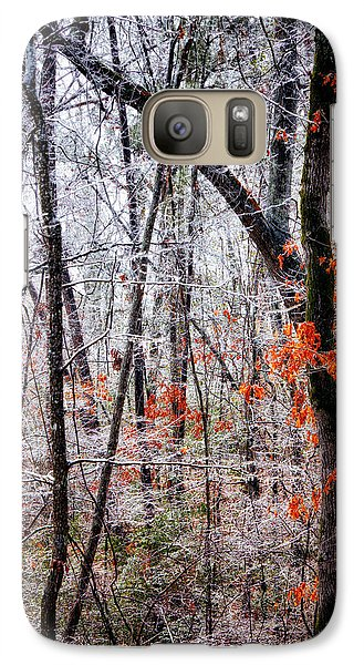 Ice Trees Galaxy S7 Case