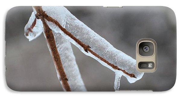 Galaxy Case featuring the photograph Ice Twig by Douglas Pike