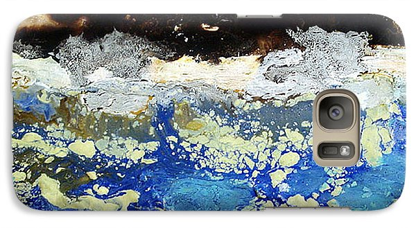 Galaxy Case featuring the painting Ice Water Frozen Trees by Carolyn Goodridge