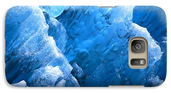 Galaxy Case featuring the photograph Iceberg Blues by Cynthia Lagoudakis