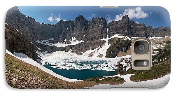 Galaxy Case featuring the photograph Iceberg Lake by Aaron Aldrich