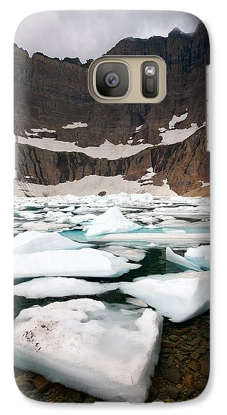 Galaxy Case featuring the photograph Iceberg Lake by Aaron Whittemore