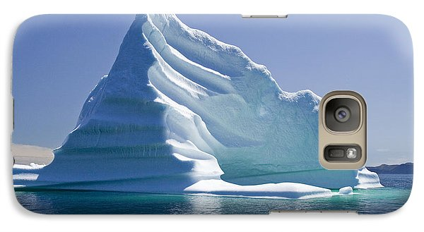 Galaxy Case featuring the photograph Iceberg by Liz Leyden