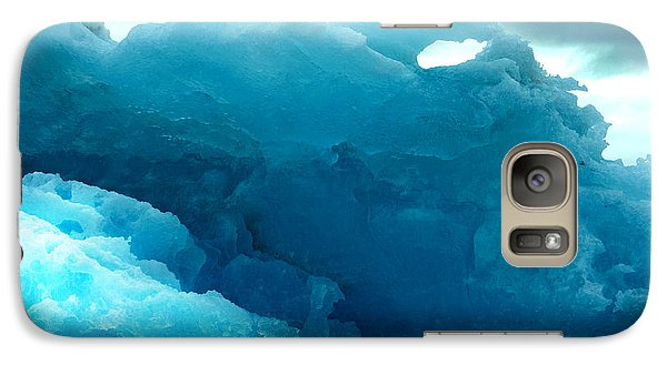 Galaxy Case featuring the photograph Icebergs by Amanda Stadther